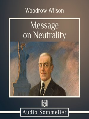 cover image of Message on Neutrality