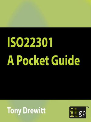 cover image of ISO22301