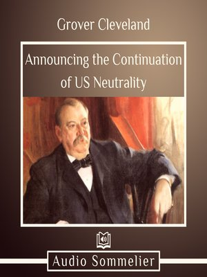 cover image of Announcing the Continuation of US Neutrality