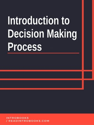 cover image of Introduction to Decision Making Process