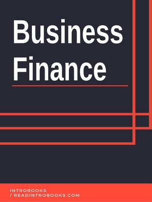 cover image of Business Finance