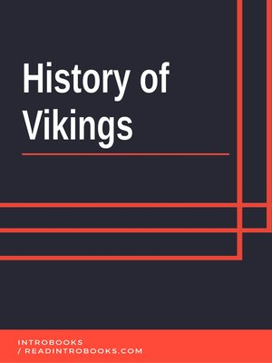cover image of History of Vikings