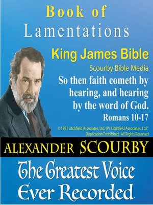 cover image of The Book of Lamentations