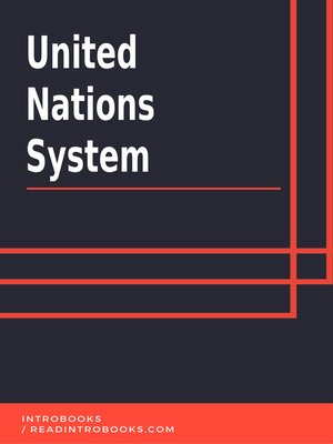 cover image of United Nations System