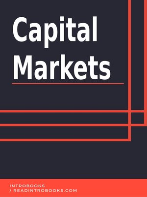 cover image of Capital Markets
