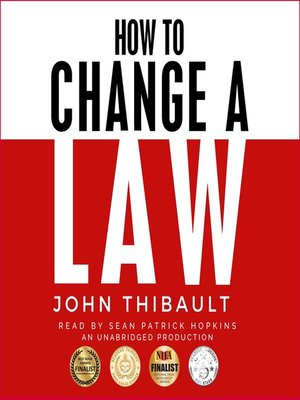 cover image of How to Change a Law