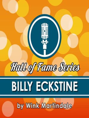 cover image of Billy Eckstine