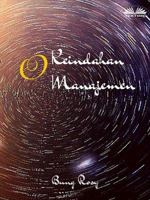 cover image of Keindahan Manajemen