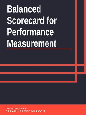 cover image of Balanced Scorecard for Performance Measurement