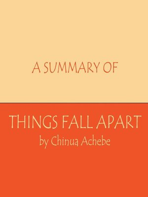 cover image of A Summary of Things Fall Apart