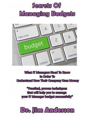 cover image of Secrets of Managing Budgets