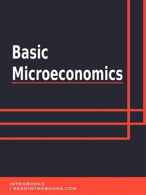 cover image of Basic Microeconomics