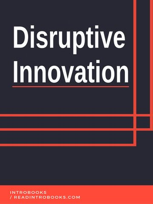 cover image of Disruptive Innovation