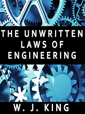 cover image of The Unwritten Laws of Engineering