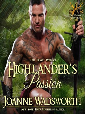 cover image of Highlander's Passion