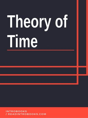 cover image of Theory of Time