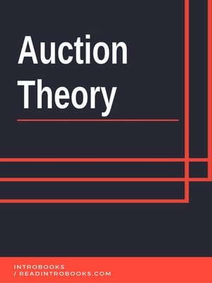 cover image of Auction Theory