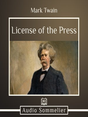 cover image of License of the Press