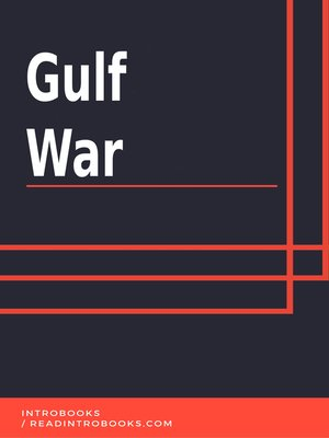 cover image of Gulf War