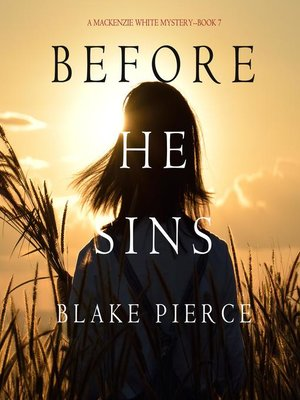 cover image of Before He Sins