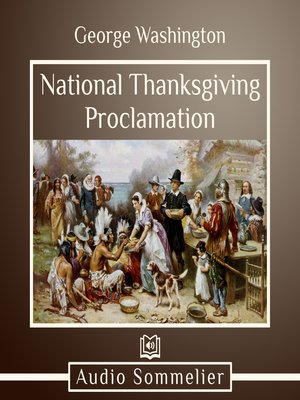 cover image of National Thanksgiving Proclamation