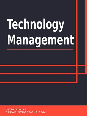 cover image of Technology Management