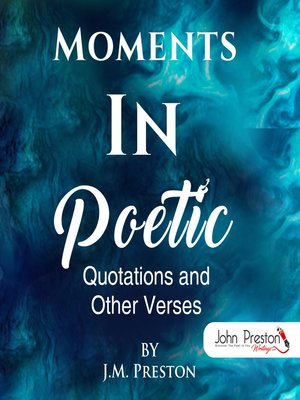 cover image of Moments In Poetic