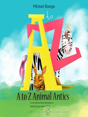 cover image of A to Z Animal Antics
