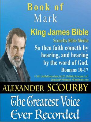 cover image of The Gospel According to Mark