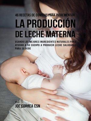 cover image of 46 Recetas De Comidas Para Incrementar La Producción De Leche Materna