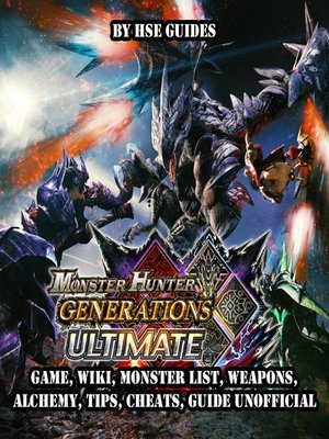 cover image of Monster Hunter Generations Ultimate