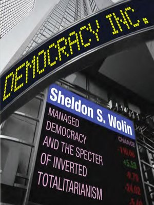 cover image of Democracy Incorporated