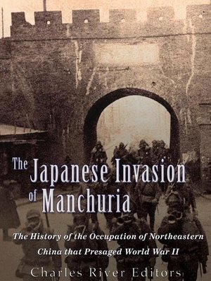 cover image of The Japanese Invasion of Manchuria