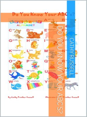 cover image of Do You Know Your ABC's?
