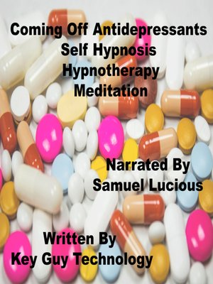 cover image of Coming Off Antidepressants Self Hypnosis Hypnotherapy Meditation