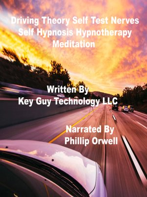cover image of Driving Test Self Hypnosis Hypnotherapy Meditation