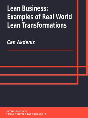 cover image of Lean Business