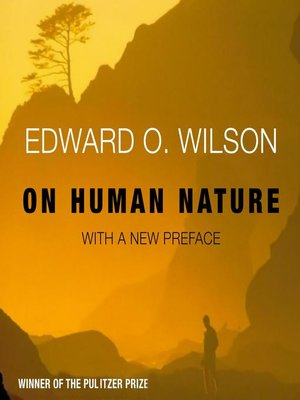 cover image of On Human Nature