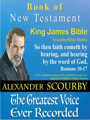 cover image of The King James Bible
