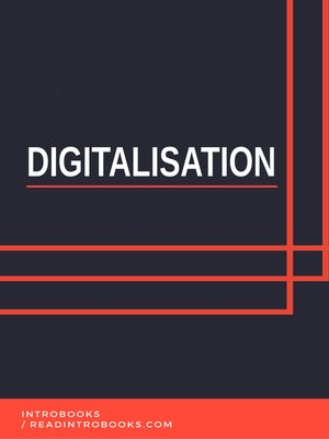 cover image of Digitalisation