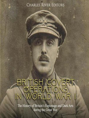 cover image of British Covert Operations in World War I