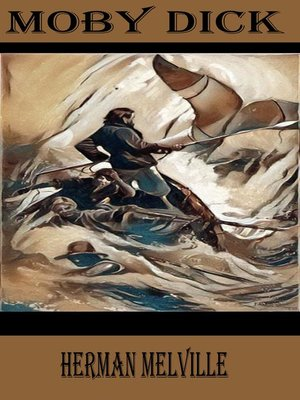 cover image of Moby Dick by Herman Melville