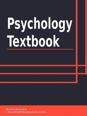 cover image of Psychology Textbook