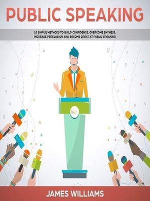 cover image of Public Speaking