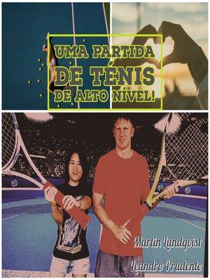 cover image of Uma partida de Ténis de Alto Nível!
