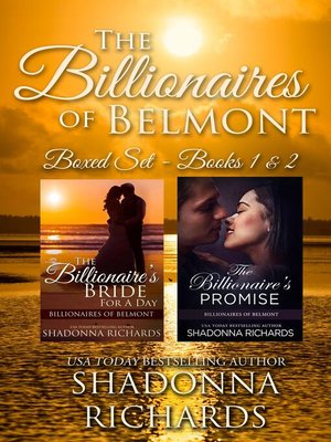 cover image of Billionaires of Belmont