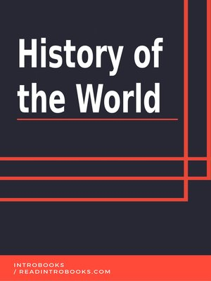 cover image of History of the World