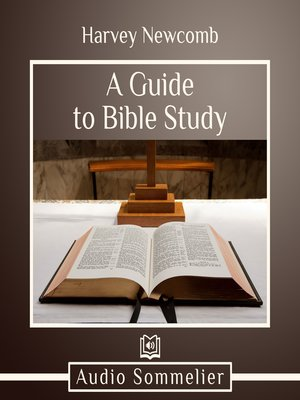 cover image of A Guide to Bible Study