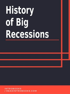 cover image of History of Big Recessions