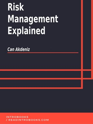 cover image of Risk Management Explained
